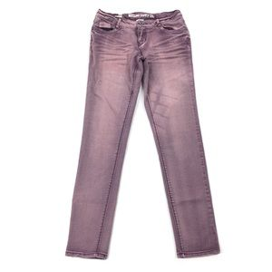 Mossimo Supply Co. | Purple Wash Skinny Jeans